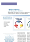 Lab Execution System Brochure