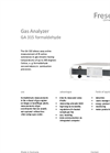 Formaldehyde - Model GA 315 - Gas Analyzer Brochure