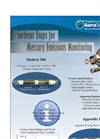 Aura-Scientific - Sorbent Traps for Mercury Emissions Monitoring – Brochure