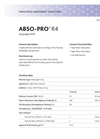 ABSO-PRO - Model R4 - Highly Efficient Absorbent Brochure