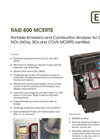 EiUK Rasi - Model 800 - Portable Combustion/Emissions Analyser  Brochure