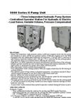 Pipe Jacking System 5000 Series II Spec Sheet