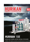Emergency Mobile Incinerators – Hurikan 150E Series – Brochure