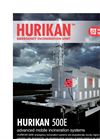 Emergency Mobile Incinerators – Hurikan 500E Series – Brochure