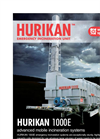 Emergency Mobile Incinerators – Hurikan 1000E Series – Brochure