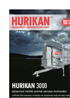Emergency Mobile Incinerators – Hurikan 3000E Series – Brochure