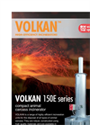 Volkan - 150 - Compact Animal Carcass Poultry Incinerator Datasheet