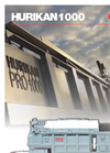 Hurikan - Model 1000 - Advanced Mobile Incineration Systems Brochure
