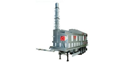 HURIKAN - Model 500 - Advanced Mobile Incineration Systems