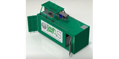 SAS - Model MIST 103 - Mobile Oil Waste Treatment System