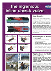 WaStop - Stainless Steel Check Valves Brochure