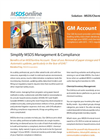 Version GM - MSDS Account Management Software- Brochure