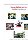 Manufacturing Services Brochure