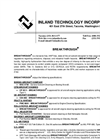 Breakthrough - MIL-PRF-680 Type II - Cleaning Solutions Technical Data
