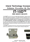 IT-15D - Deployable Unit For Parts/Weapons Cleaning Technical Data