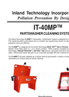 IT-40MP - Partswasher Cleaning System Technical Data