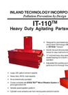 IT-110 - Heavy Duty Agitating Partswasher Technical Data