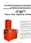 IT-80 - Heavy Duty Agitating Partswasher Technical Data
