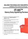 IT-95 - Heavy Duty Agitating Partswasher Technical Data