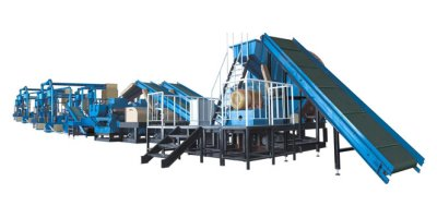 Model 10000Tons/Year Rubber Fine powder - Rubber Granule Production Line