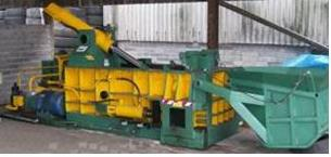 Model CBB1T - Tire Steel Wire Baler
