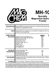 FloMag - Model MHP - Magnesium Hydroxide Powder for Wastewater Treatment Datasheet