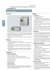 CALOMAT 62 Continuous Gas Analyzers For Hydrogen, Cl2, HCl or NH3 Brochure