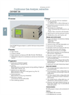 OXYMAT 64 Continuous Gas Analyzers For Measurement of Oxygen Concentration Brochure