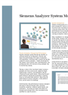 Analyzer System Monitoring - Brochure