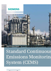 Standard Continuous Emissions Monitoring System (CEMS) - Specification Sheet