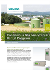 Continuous Gas Analyzers (CGA) Rental Program - Brochure