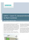 LDS 6 - Laser O2 measurement in flare systems - Application Note