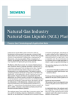 Natural Gas Industry - Natural Gas Liquids (NGL) Plant - Application Note