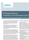 Refining Industry Aromatics Fractionation Unit (BTX) - Application Note