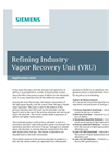 Refining Industry Vapor Recovery Unit (VRU) - Application Note