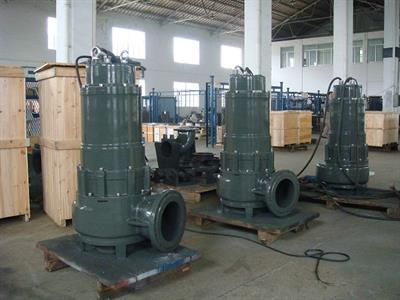 DeTech - Model WQ Series - Channel Impeller Sewage Pump