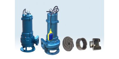 DeTech - Model MP Series - Submersible Grinder Pump