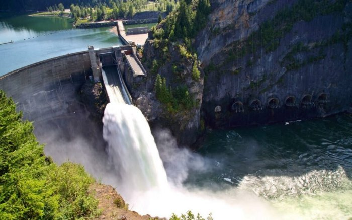 The Boundary Dam in Washington