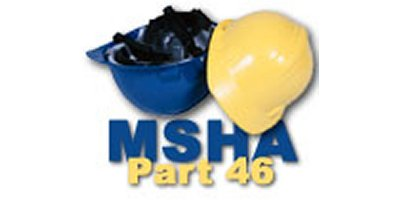 MSHA Part 46 Refresher Training Course