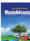 Waste Advantage Magazine Media Planner 2012