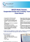 Model MXD73 - Panel Mount Multi Channel Transmitter Brochure