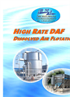 High Rate DAF Dissolved Air Flotation Brochure