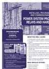 Installing, Programming and Commissioning of Power System Protection Relays and Hardware