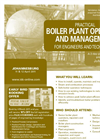 Practical Boiler Plant Operation and Management for Engineers and Technicians