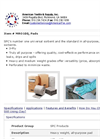 MRO100 MRO/Universal All Purpose Sorbent Pads Brochure