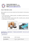 MRO100-2 MRO/Universal All Purpose Sorbent Pads Brochure