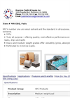 MRO300 MRO/Universal All Purpose Sorbent Pads Brochure