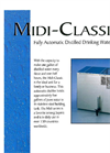 Midi-Classic Fully Automatic Distilled Drinking Water System Brochure