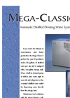 Mega Classic Water Distiller Brochure