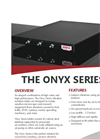 Vibration Isolation Systems Onyx Series - Brochure